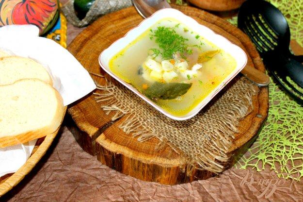фото рецепта: Рыбный суп с кусочками щуки