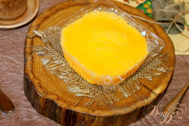 фото рецепта: Пюре из персиков и сока в заморозку