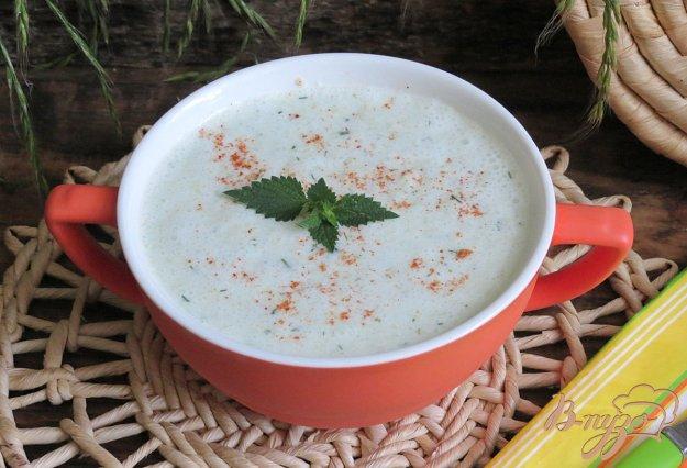 фото рецепта: Холодный суп из огурцов