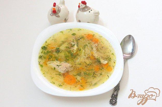 фото рецепта: Куриный суп с вермишелью