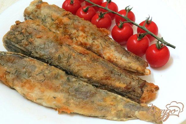 фото рецепта: Рыба жареная с укропом и чесноком