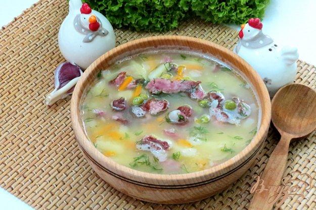 фото рецепта: Гороховый суп с двумя видами гороха