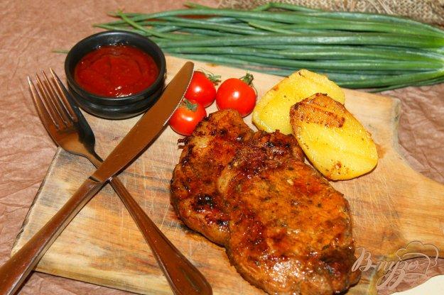 фото рецепта: Свинина маринованная в бальзамическом уксусе и соевом соусе