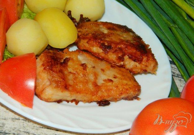 фото рецепта: Рыбка золотистая