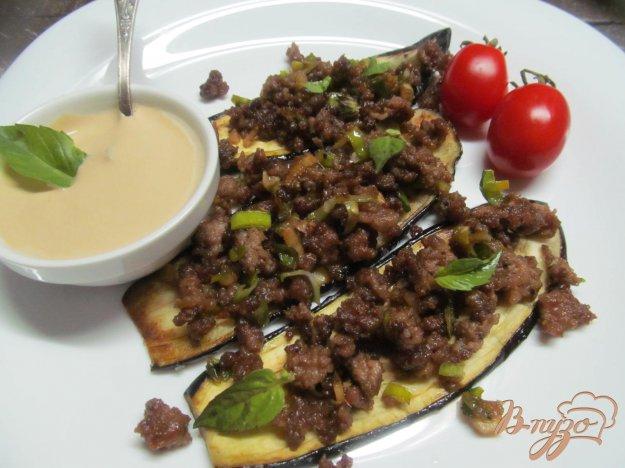 фото рецепта: Чили говядина на баклажане
