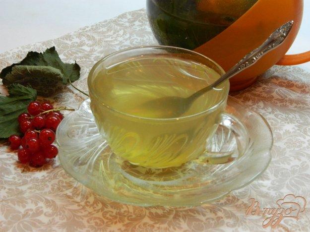 фото рецепта: Чай из листьев смородины и мяты