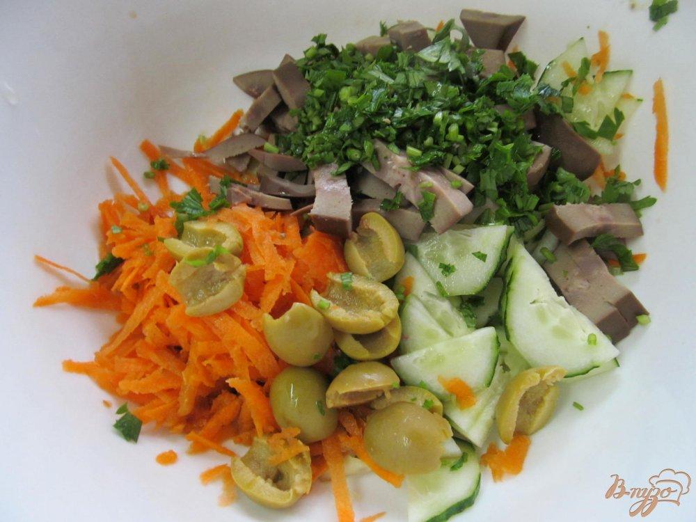 Салат с почками рецепт
