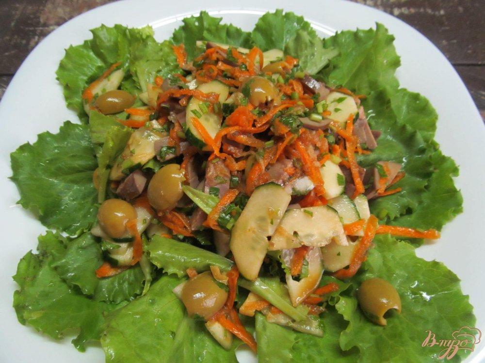 Салат почки свиные рецепт