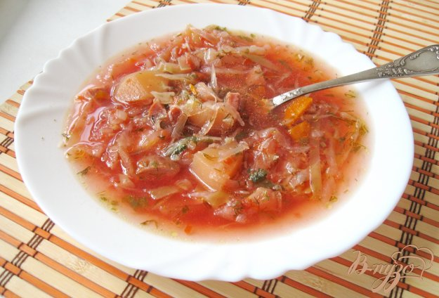 Рецепт вторых блюд из копчоной колбасы