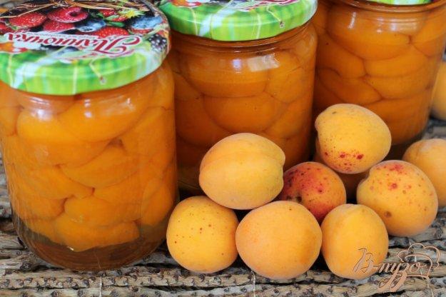 фото рецепта: Абрикос в легком сахарном сиропе