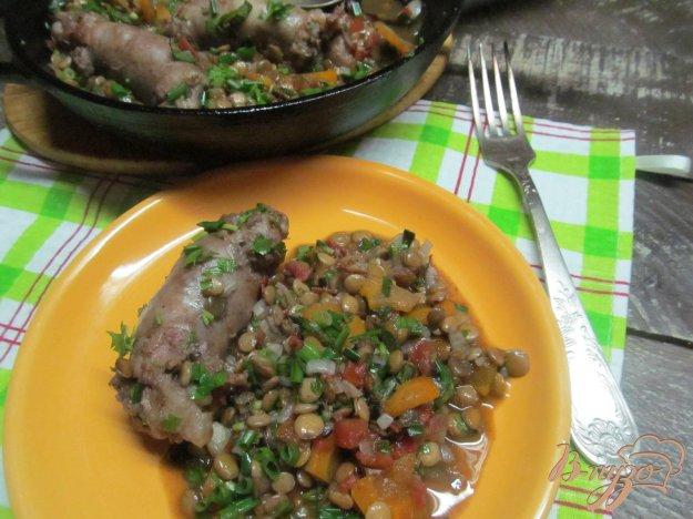 фото рецепта: Домашние колбаски с чечевицей