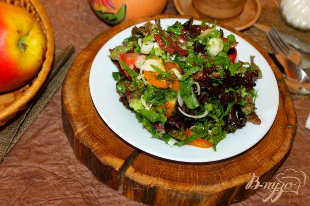 фото рецепта: Витаминный зеленый салат