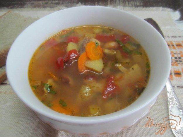 фото рецепта: Летний фасолевый суп