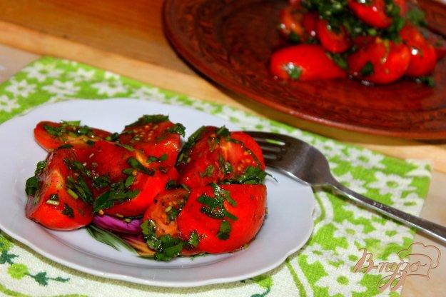 фото рецепта: Помидоры маринованные закусочные