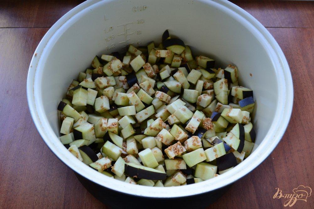 Фото приготовление рецепта: Овощное рагу с баклажанами в мультиварке на зиму шаг №1