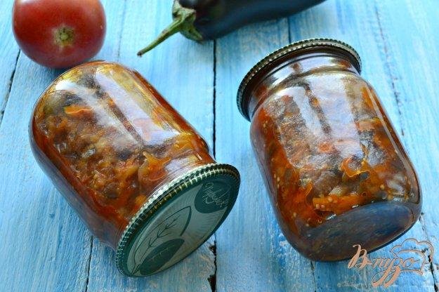 фото рецепта: Овощное рагу с баклажанами в мультиварке на зиму