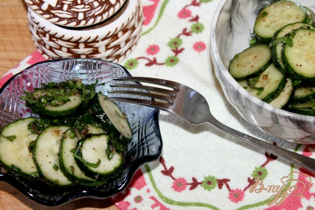 фото рецепта: Огурцы острые, маринованные