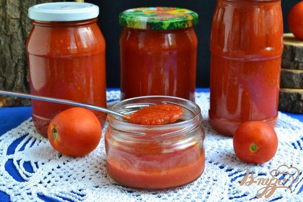 фото рецепта: Острый кетчуп на зиму в мультиварке