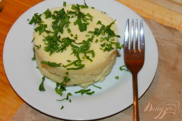 фото рецепта: Картофельное пюре с твердым сыром и сливками