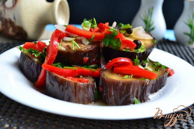 фото рецепта: Маринованные баклажаны быстрого приготовления