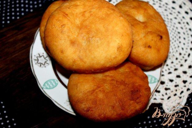 фото рецепта: Жареные пирожки с ливером