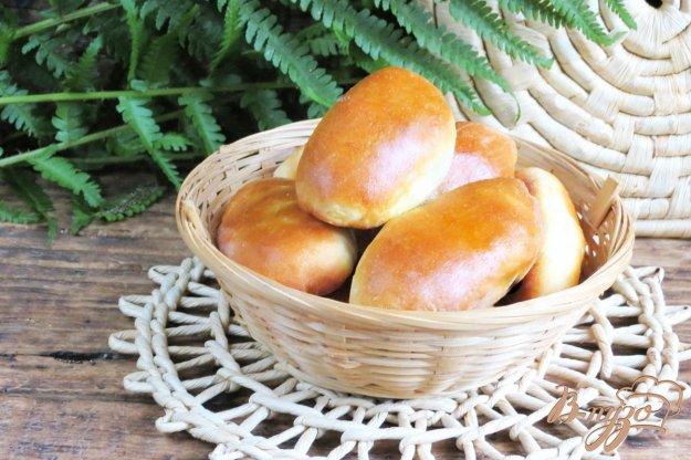 фото рецепта: Пирожки духовые с капустой и грибами