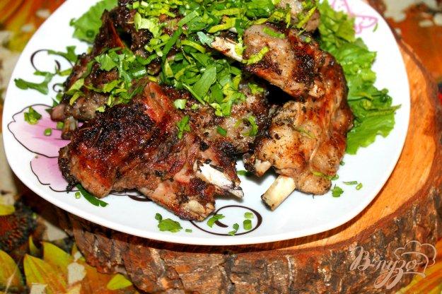 фото рецепта: Свиные ребра на углях