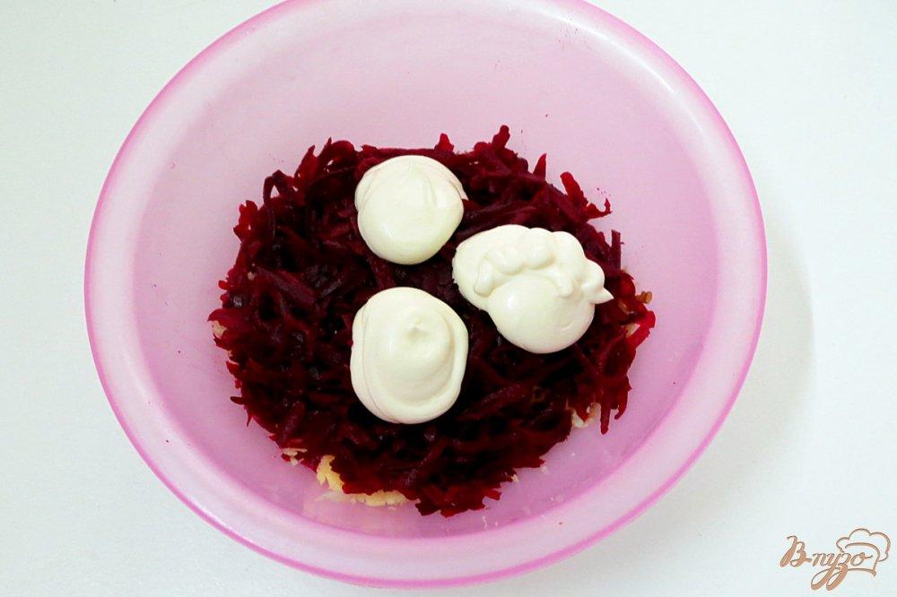 рецепты салат из свеклы орехов фото