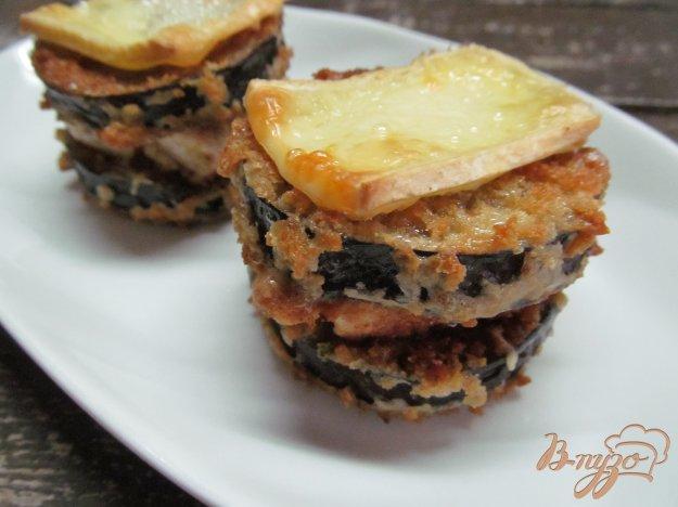 фото рецепта: Закуска из баклажана с крабовым палочками