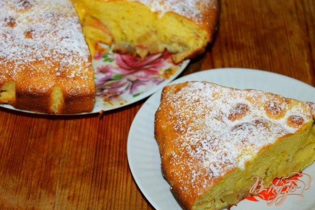 фото рецепта: Яблочный пирог с апельсиновой цедрой