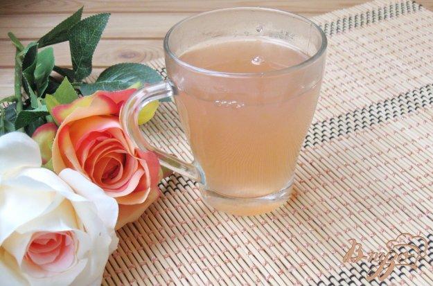 фото рецепта: Сливово-яблочный кисель с апельсином