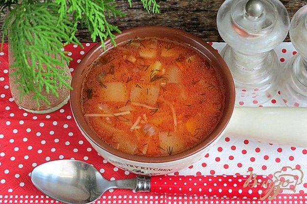 фото рецепта: Суп томатный
