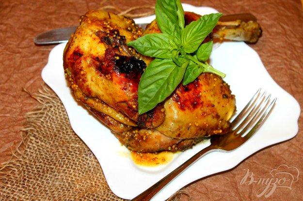 фото рецепта: Половина цыпленка жаренного в мультиварке