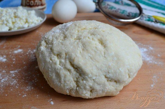 фото рецепта: Творожное тесто для вареников на пару