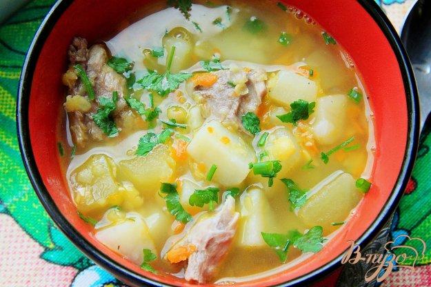 фото рецепта: Суп гороховый в мультиварке