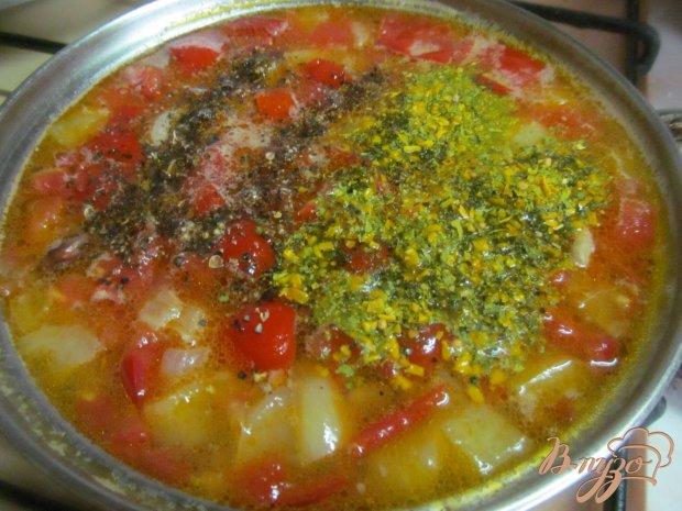 Летний фасолевый суп