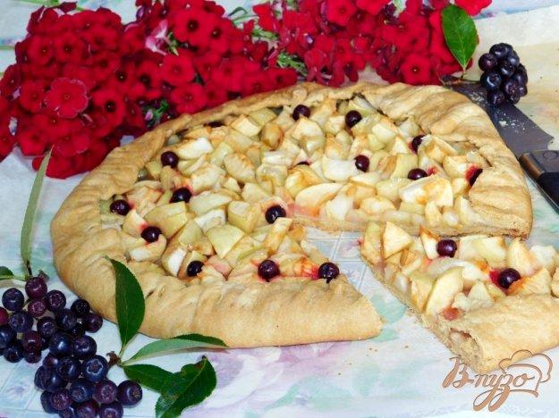фото рецепта: Галета с яблоками