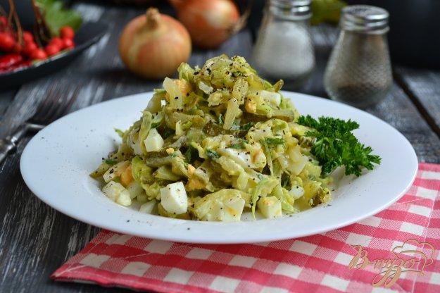 фото рецепта: Салат из кабачков