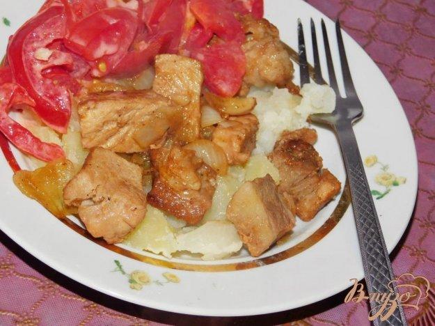 фото рецепта: Мясо с красным вином и соевым соусом