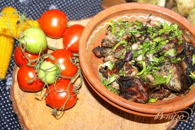 фото рецепта: Шашлык из свиного ошейка на минералке