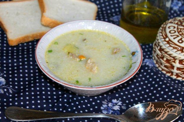 фото рецепта: Картофельный суп с курицей и сливками