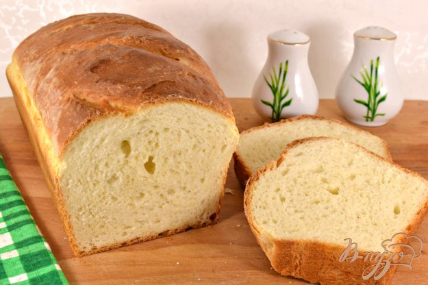 фото рецепта: Домашний хлеб на молоке с медом