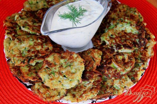 фото рецепта: Драники из картофеля и кабачков