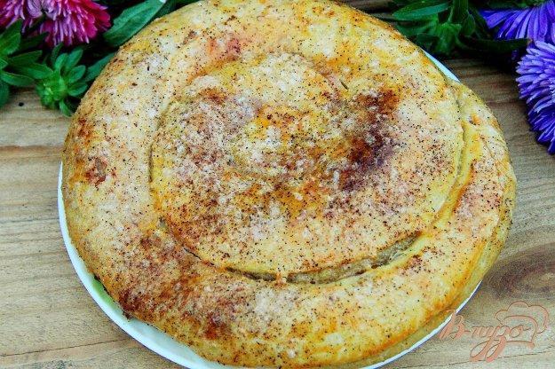 фото рецепта: Пирог улитка с яблоками