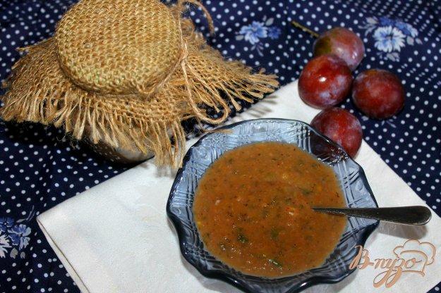фото рецепта: Сливовый соус с грецким орехом
