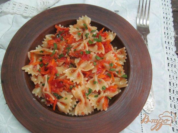 фото рецепта: Паста с томатами и морковью