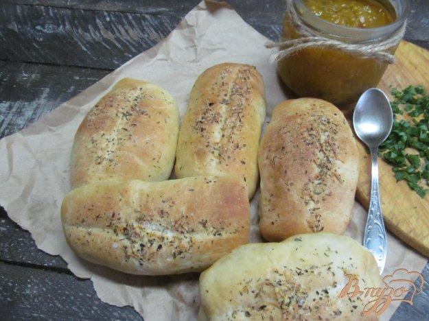 фото рецепта: Закусочные булочки с чесночным маслом