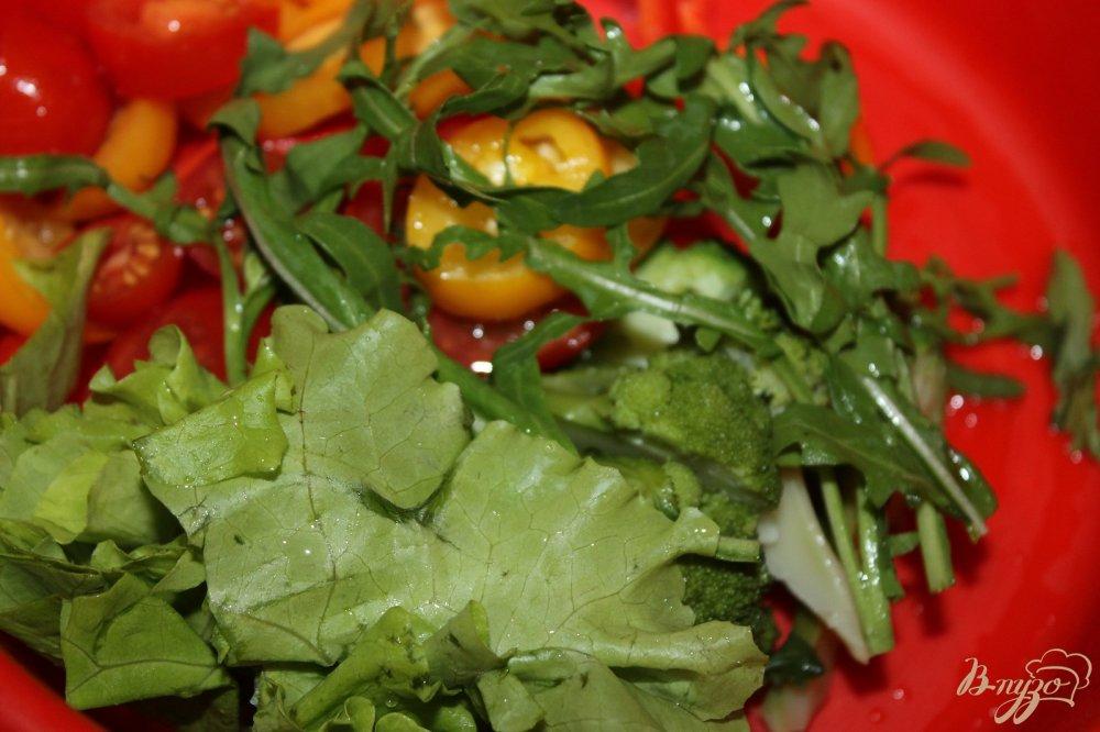 Салат с брокколи сыром рецепт с фото