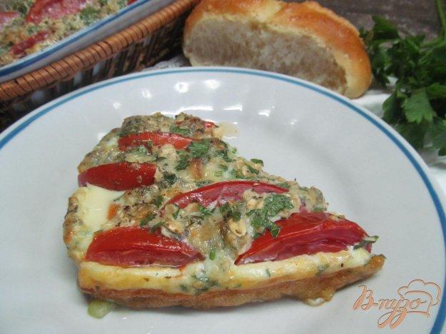 фото рецепта: Кабачковый омлет с овсянкой