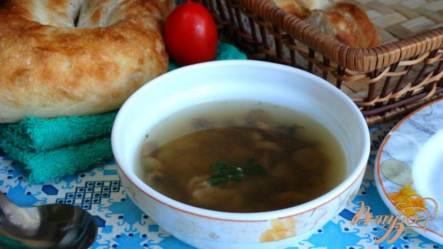 фото рецепта: Суп с курицей и шампиньонами